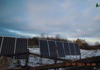 """Солнечная электростанция """"GreenTok"""" - 1,8кВт. Ветрогенератор на 2кВт"""