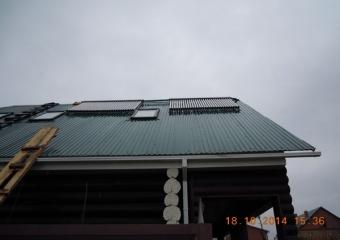 Солнечные ваккумные коллектора для обеспечения горячей водой и отоплением. г.Мелеуз
