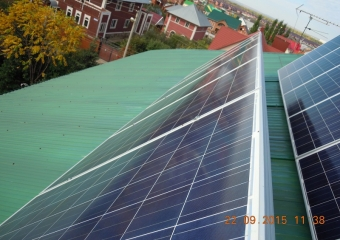 Гибридная Солнечная электростанция на 3кВт