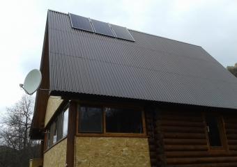 """Солнечная электростанция """"GreenTok"""" - 3,6кВт в сутки. Мелеузовский район. Нугушское водохранилище."""