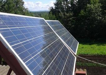 """Солнечная электростанция """"GreenTok"""" - 1,5 кВт в сутки. Пчеловод"""